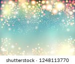 abstract holiday christmas... | Shutterstock .eps vector #1248113770