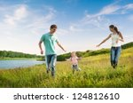 enjoying the life together | Shutterstock . vector #124812610