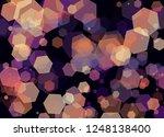 blur and bokeh  vibrant colors. ... | Shutterstock . vector #1248138400