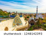 Panoramic View Of Park Guell I...