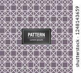 geometric pattern background.... | Shutterstock .eps vector #1248143659