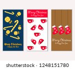 vector illustration of winter... | Shutterstock .eps vector #1248151780