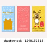 vector illustration of winter... | Shutterstock .eps vector #1248151813