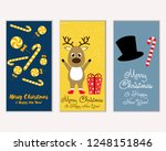 vector illustration of winter... | Shutterstock .eps vector #1248151846