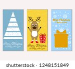 vector illustration of winter... | Shutterstock .eps vector #1248151849