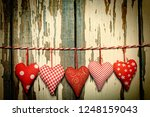 valentine's day background.... | Shutterstock . vector #1248159043