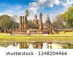 wat mahathat temple in...   Shutterstock . vector #1248204466