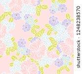 abstract elegance seamless... | Shutterstock . vector #1248238570