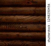 dark brown reclaimed wood... | Shutterstock . vector #1248250456