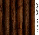 dark brown reclaimed wood... | Shutterstock . vector #1248250480