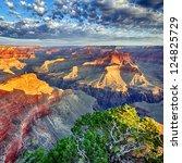 Morning Light At Grand Canyon ...