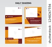poster   banner template ...   Shutterstock .eps vector #1248267556