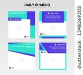 poster   banner template ... | Shutterstock .eps vector #1248269203