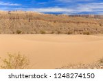 Sand dunes in Boquillas del Carmen, Mexico, on the border with Texas at Big Bend National Park, Texas