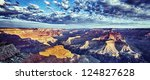 Panoramic View Of Grand Canyon...