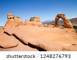 delicate arch  archesh national ...   Shutterstock . vector #1248276793