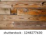 medium light brown reclaimed... | Shutterstock . vector #1248277630