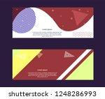 vector design for sale web... | Shutterstock .eps vector #1248286993