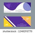 vector design for sale web... | Shutterstock .eps vector #1248293770
