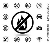 ban  forbiddance bonfire ...