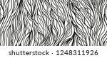 wavy intricate background. hand ... | Shutterstock . vector #1248311926