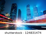 shanghai lujiazui finance and... | Shutterstock . vector #124831474