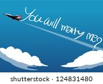 military airplane draw word in...   Shutterstock .eps vector #124831480