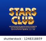 vector chic sparkling logo... | Shutterstock .eps vector #1248318859