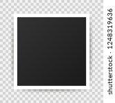 vector photo frame mockup... | Shutterstock .eps vector #1248319636