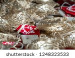 christmas ornaments and lights | Shutterstock . vector #1248323533