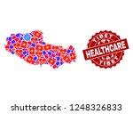 healthcare composition of... | Shutterstock .eps vector #1248326833