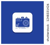 blue round button for camera ... | Shutterstock .eps vector #1248331426