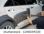 mechanic worker repairman... | Shutterstock . vector #1248339220