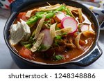 hearty and spicy chicken... | Shutterstock . vector #1248348886