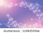 computer motherboard vector... | Shutterstock .eps vector #1248353566