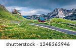 dramatic summer scene of sedlo... | Shutterstock . vector #1248363946