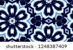 hand painted watercolor tie dye ... | Shutterstock . vector #1248387409