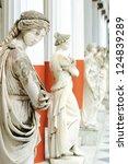 Column Of Muses In Achillion...