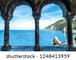 famous cliff at portovenere  ... | Shutterstock . vector #1248413959
