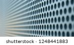 abstract pattern of circles in... | Shutterstock . vector #1248441883