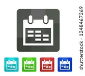 calendar   app icon | Shutterstock .eps vector #1248467269