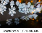 bokeh background light with a... | Shutterstock . vector #1248483136