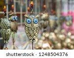 Owl Brass Bell    Gift For...