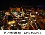 traditional christmas market in ... | Shutterstock . vector #1248506986