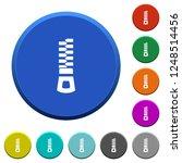 vertical zipper round color... | Shutterstock .eps vector #1248514456