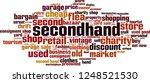 secondhand word cloud concept.... | Shutterstock .eps vector #1248521530