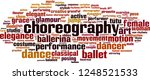 choreography word cloud concept.... | Shutterstock .eps vector #1248521533