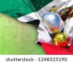 mexico flag happy new year and... | Shutterstock . vector #1248525190