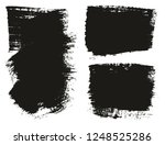 paint brush wide background... | Shutterstock .eps vector #1248525286