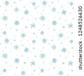 seamless pattern hand drawn...   Shutterstock . vector #1248526630